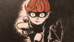 """""""El chico de los ojos de gato"""", el terror clásico japonés llega en formato manga"""