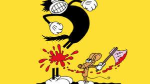 """""""Squeak the mouse"""" el cómic de Massimo Mattioli que llena de alcohol, sangre y sexo las persecuciones entre un gato y un ratón."""