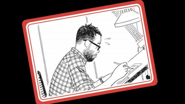 """Sapristi publica """"La soledad del dibujante"""" de Adrian Tomine, una representación del mundo del cómic en su vertiente profesional actual."""