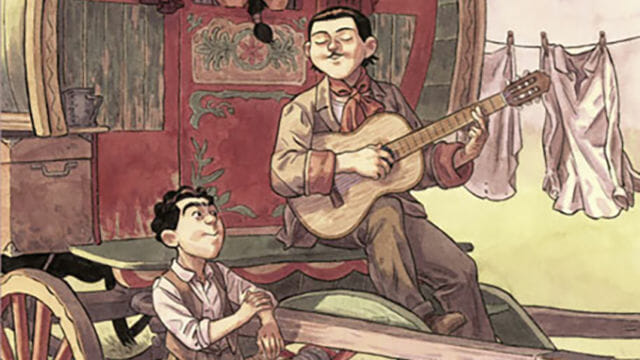 """""""Django. Mano de fuego"""", la nueva novela gráfica de Salva Rubio y Ricard Efa, presenta la biografía del creador del jazz manouche"""