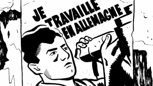 Justin, un cómic con el que se pretende recordar el Servicio de Trabajo Obligatorio francés de los años 40