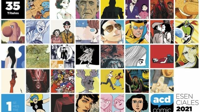 La ACDCómic publica su selección de cómics Esenciales del primer semestre de 2021